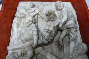 talla sobre mármol